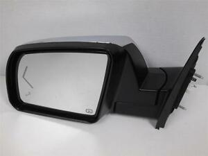 11 12 13 Toyota Tundra Driver Side Mirror Chrome Power Fold Puddle Blind Spot 2