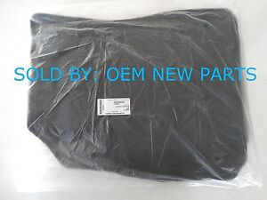 2016 2019 Chevrolet Malibu Floor Mats Set Front Rear Genuine Oem Black 84052213