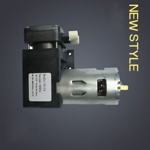 Dc12v 40l min Oilless Vacuum Pump 85kpa Small Mini Vacuum Pump