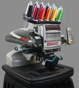Melco Bravo C 16 Needle Embroidery Machine No Interest For 60 Months 216 58