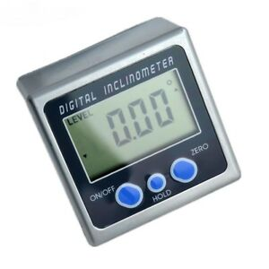 Digital Protractor Inclinometer Box Level Measuring Tool Electronic Angle Meter