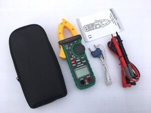 Auto Ranging Digital Ac dc Clamp Meter True Rms 600a Volt Amp Ohm Frequency New