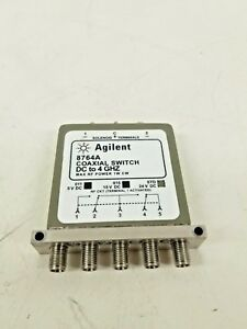 Hp 8764a Coaxial Switch Dc 4ghz