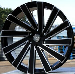 24 Inch Gima 6 Bme Rims And Tires 08 Ford F150 Navigator Expedition Mark Lt