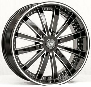 26 Inch Gima 5 Bme Wheels And Tires 08 Ford F150 Navigator Expedition Mark Lt