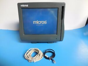 Micros Workstation 4 400614 01 With Cables