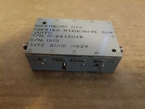 Premier Microwave 15870 P 2612859 Rf Sma Diode Detector Modulator Amplifier 003