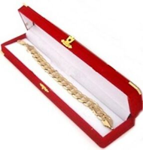 24 Red Velvet Brass Bracelet Watch Jewelry Presentation Display Gift Boxes