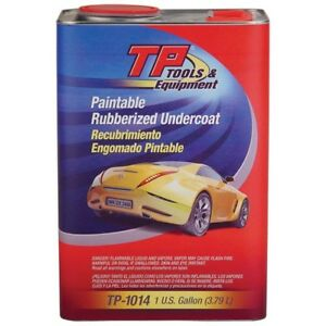 Tp Tools Quick dry Rubberized Undercoating Black Gallon tp 1014
