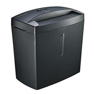Micro Cut Paper Shredder Doc Shred Thermal Protection Heavy Duty Office Home Bon