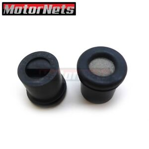 Rubber Baffled Pcv Breather Grommets For Aluminum Valve Covers 2 Sbc Bbc 350