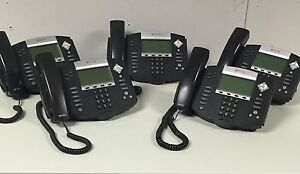 Polycom Soundpoint Ip 550 Sip Phone 10 Pack