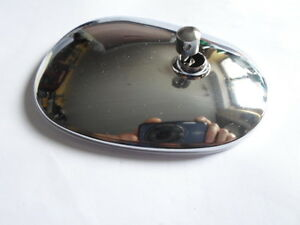 Mirror Glass Head Vw Borgward Vauxhall Ford Vintage Car Rear View