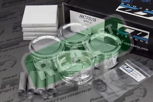 Cp Pistons Ford Focus Duratec 2 0l 2 3l 88mm 9 0 10 3 1 Sc7525
