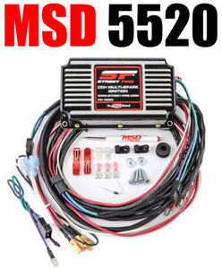 Msd 5520 Ignition Box Msd Street Fire Digital Cd With Rev Limiter New
