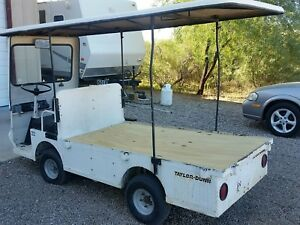 Taylor Dunn Flatbed Utility Cart