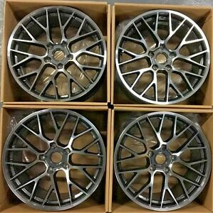20 Porsche Wheels Rims Cayenne Gts Turbo New Staggered 20x9 Germany New Set 4