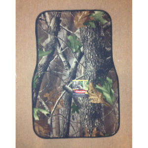 Camo Truck Floor Mats 2 Two Piece Set Rt Hardwoods Green Or Mobu Pink