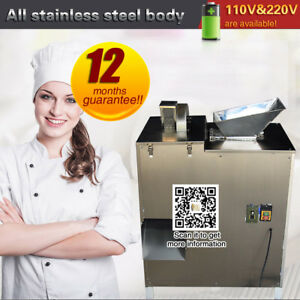 Dhl Shipping commercial With Hopper Dough Divider Machine 100kg h 110v 220v