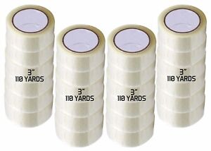 24 Rolls 3 X 330 Clear Jumbo Packing Tape 110 Yards Limited Time Offer