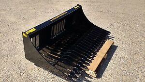 88 Skid Steer Rock Bucket Screening Sifting High Quality Free Shipping