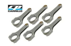 Carrillo Pro h Rod 22mm Pin Size Fits Chevy Ecotec 2 0 Ltg With Carr Bolts