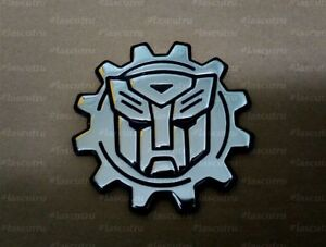 Autobots Emblem Badge Logo Symbol Label Sticker Decor Metal Steel Gift