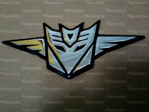 Decepticon Emblem Badge Logo Symbol Label Sticker Decor Metal Steel Gift