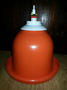 Automatic Poultry Water Fount Gamebird Duck Pheasant Turkey Quail