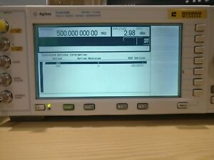 Agilent E4430b Esg d Series Signal Generator With Options
