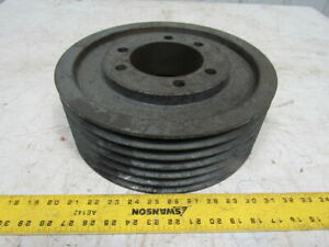 6 Groove Sheave Pulley 12 1 2 Od X 4 1 2 Thick 2000rpm Max 4 1 4 Id