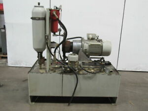 Fmb Bickle Hydraulic Power Unit 110 Gal W accumulator Pump 0 514 500 001 b