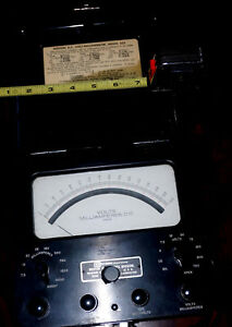 Vintage Weston D c Volt milliammeter Model 622 With 18 Ranges Accurate working