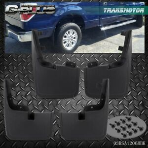 Splash Guards Mud Flaps Without Fender Flares For Ford Molded F 150 2015 2017