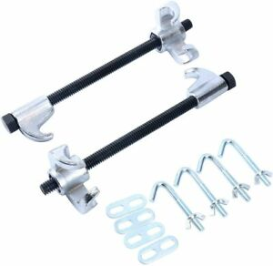 2 Coil Spring Shock Compressor Remover Installers Spring Set Struts Repair Kits