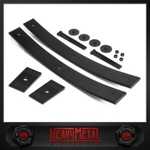 For 05 20 Toyota Tacoma 2 Add a leaf Rear Spring Leveling Lift Kit Axle Shims
