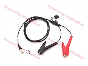 Power Cable With Fuse For Trimble 5600 3600 Total Station geodimeter gps