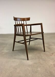 Paul Mccobb Planner Group Captains Chair Mid Century