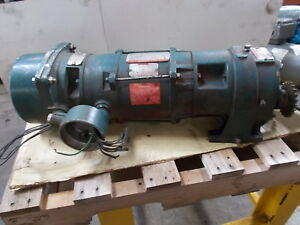 Reliance Electric Speed Reducer M621931001x0 With Unibrake F51a538m xq