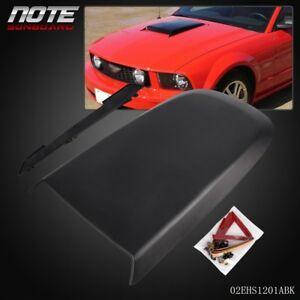Front Racing Style Air Vent Hood Scoop For Ford Mustang Gt V8 2005 2009