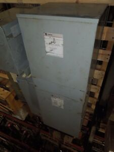 Ge 15kva 480 120 240v 1ph 9t21s1150 Servicenter Substation Used