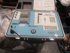 Liebert Model 3600a Power Line Disturbance Monitor Cables Pictured