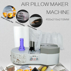 Air Pillow Cushion Maker Bubble Wrap Making Machine Wiair 1000 And Air Pillow