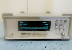 Agilent Hp Keysight Agilent 86120b 700 1650 Nm Multi wavelength Meter