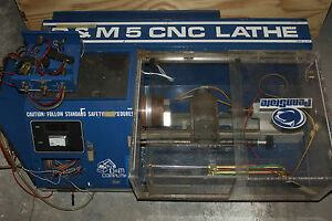 D m Computing Tabletop Cnc Mill Lathe 5 As is