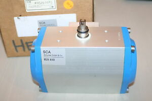 Sca Schucker Gmbh 0529 0183 Pneumatic Rotary Actuator New