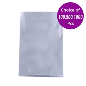 Translucent Anti static Open Top Bag Pouch 4x6in W Heat Seal Machine M08