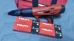 Hilti Dx 460 Powder Actuated Tool With X 460 f8 Attachment New