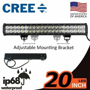 20inch 294w Cree Led Work Light Bar Combo Offroad 4wd Truck Driving Lamp Ute 22