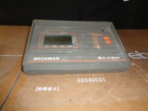 Beckman Instruments 11 Ph Meter Br0ken Glass